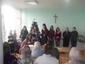 Mokiniu sventiniai palinkejimai centro gyventojams