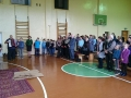 22. Nuoširdus gimnazistų sveikinimas V. Vadoklytei gimimo dienos proga