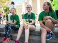 Liveta, Emilija ir Karolina sėkmingai įveikė 5km